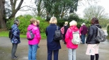 Some of the Garden Group on a visit to Pencarrow