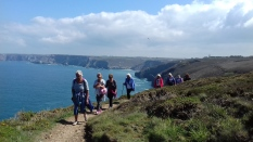 Walking Group near St Agnes
